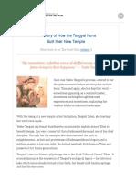 How the Yeshe Tsogyal Nuns Built Their New Temple - Jnanasukha