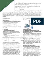 BUFFER PREPARATION AND PH MEASUREMENT USING THE ELECTROMETRIC METHOD AND COLORIMETRIC METHOD.docx