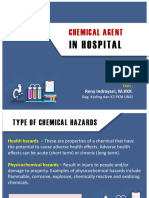 Chemical Agent in Hospital