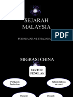 Faktor Kedatangan Imigran India & China