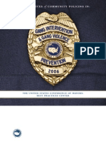 Best Practices of Community Policing In