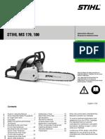35cm Stihl Rapid Super cadena para dolmar 105 motosierra sierra cadena .325 1,5
