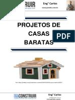 Projetos de Casas Baratas