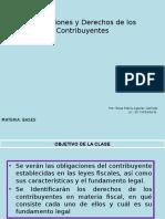 Obligaciones y Derechos de Los Contribuyentes