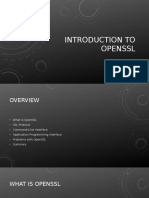 Introduction to OpenSSL