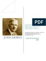 Resumen John Dewey.