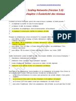 CCNA 3 - Correction Examen Chapitre 1 Évolutivité Des Réseaux - Scaling Networks (Version 5.0)