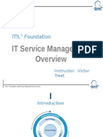 ITSM Course Exec Overview