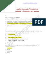 CCNA 3 - Correction Examen Chapitre 2 Évolutivité Des Réseaux - Scaling Networks (Version 5.0)