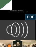 Dark Room Illumination & Care and Maintainence of Dark Room 1
