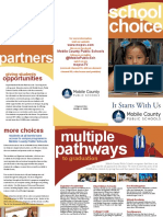 Mobile County public school choice brochure