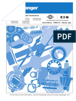 Eaton TRSM-011 Service Manual