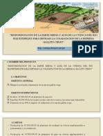 Erosion en La Cuenca Jequetepeque