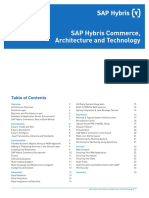 WP SAP Hybris Commerce Architecture and Technology En