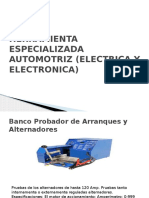 Herramienta Especializada Automotriz (Electrica y Electronica)