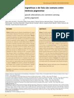 Alterações Estomatgnáticas e de Fala são comuns entre Crianças com incontigência Pigmentar (Autor