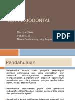CST Periodontitis Kronis Generalisata