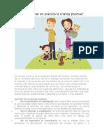 Cómo Poner en Práctica La Crianza Positiva