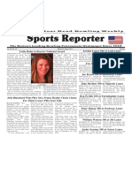 March 29 - April 4, 2017  Sports Reporter