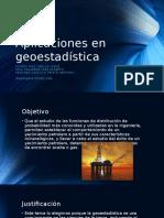 Aplicaciones en Geoestadística