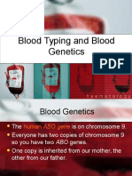 Blood Typing and Genetics.ppt