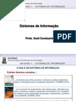 20171 UNID II Sistemas de Informação