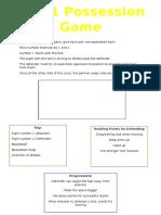 1 vs 1 possession game