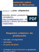 Producción Webseries Low Cost