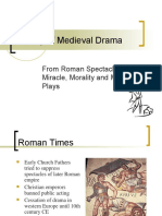 History of Medieval Drama