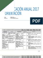 Planificacion Anual Orientacion 4basico 2017