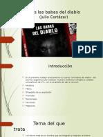 Análisis de Las Babas Del Diablo