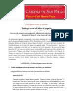 Teologia Esencial Sobre El Papado Cathdal