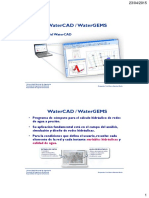 WaterCAD_V8i2015