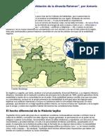 Tayikistán y La Consolidación de La Dinastía Rahmon El Orden Mundial en El S.xxi