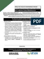 Tecnico de Laboratorio Hidraulica p 1304