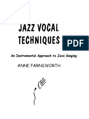 310490214-Jazz-Vocal-Techniques pdf | Chord (Music) | Interval (Music)