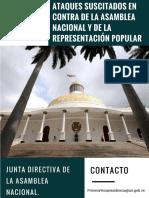 Ataques Suscitados en Contra de La Asamblea Nacional Venezolana y Sus Diputados