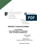 1 Proiect 1 Decembrie