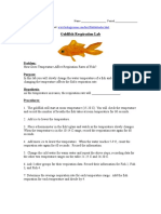goldfish respiration lab