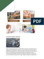 Características Del Agua Contaminada