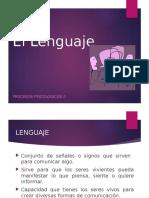 Procesos Psicologicos II - 8 - El Lenguaje.pptx