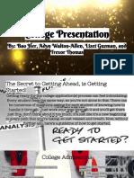 college presentation -  4th period
