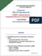 Es5 - CORBA - Invocazione Dinamica e Invocazioni Asincrone