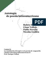 Antologia Poética Vallejo Neruda Guillen