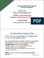 Es6 - CORBA - Implementazione Politiche Di Attivazione Lato Server
