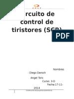 InformeCircuito de Control de Tiristores