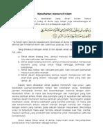 Kesehatan Menurut Islam