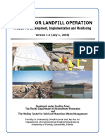 A Guide for Bioreactor Landfill Operation