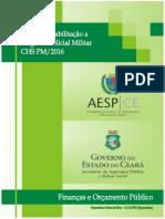 Apostilas CHS PM 2016 - Finanças e Orcamento Publico