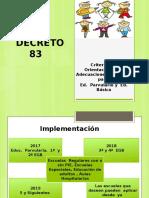 Decreto 83